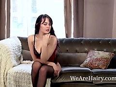 ksenia yankovskaya enjoys stripping naked today