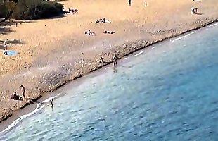 Vai palm beach Crete Greece