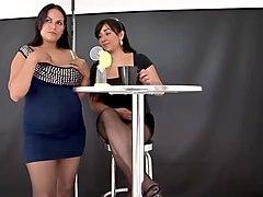 lactating latina