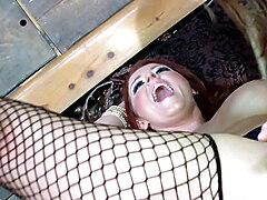 Hot on Fire Redhead Big Tits Spohie Dee fucks Courtney Cummz