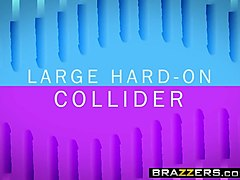 brazzers - big tits at work -  large hard-on collider scene