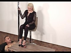 german shoejob heeljob footjob black heels