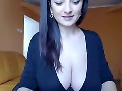 sexy pregnant boobs on webcam