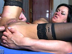 Julina Wild & Terry in Sextape Of A Bigtits Squirter That Gonna Have A Dp - MMM100