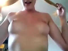 blond, whore, anal, mouth, cum