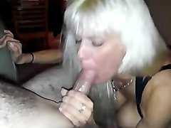 Big Tit Escort Sucking My Cock
