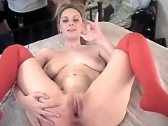 homemade, masturbate, shave, stockings, masturbation