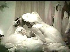 lesbian dildo brides carolyn & sexy desiree honeymoon night