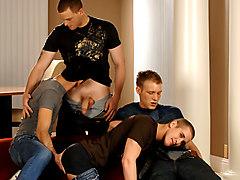 Mason Wyler & Jake Steel & David Stone & Brandon Bangs in Mason Wyler, Jake Steel, Brandon Bangs & David Stone XXX Video