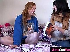 videos, girls out west, hairy, australian, lesbian