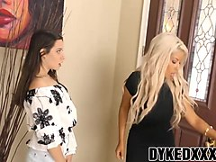 bridgette b and cassidy klein enjoy banging with each other