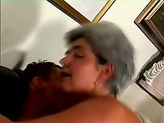 mature horny lady riding on a dick in classic and reverse cowgirl style