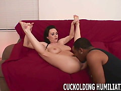 his huge cock can make me cum so much harder than yours