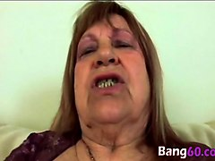fat blonde granny dominika gets pounded on couch