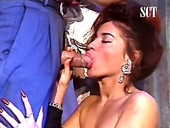 stunning redhead babe with beautiful lips loves sucking cock