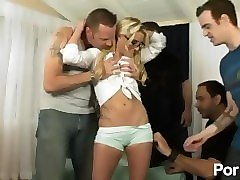 amateur gang bang - scene 2