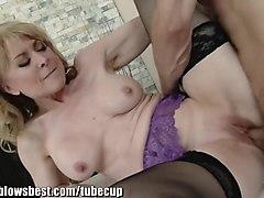 Fabulous pornstar Nina Hartley in Horny MILF, Mature sex scene