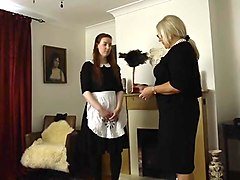 Apologetic maid gets punished pt.2