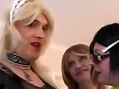 Crossdressers Having Fun