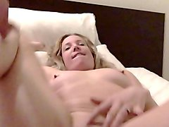 I take three creampies and cum hard with two guys