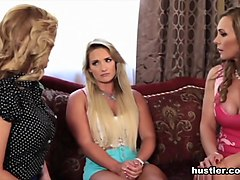 Tanya Tate & Cherie DeVille & Cali Carter in Tanya Tate's Babysitting Academy - Hustler