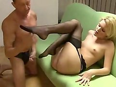 Best homemade Blonde, Cunnilingus porn video