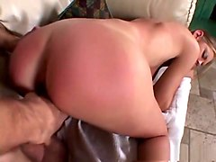 Incredible pornstar Brooke Banner in exotic blonde, facial xxx clip