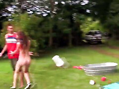 Naked college party teens get dirty fucking