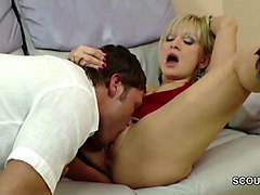 he fuck his step-mom and cum in her pussy