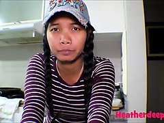 18 week pregnant thai teen heather deep nurse deepthroat