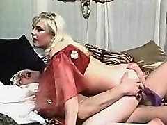 Horny Interracial, Vintage porn movie