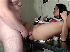 Stunning Asian Doll Fucked Hard By Her Bf