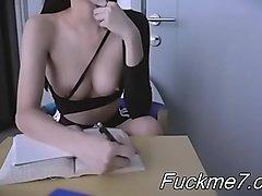My bitch keep sucking after cum. Female POV
