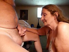 sucking off my husband again got a lot of cum