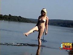 Fabulous Amateur record with Nudism, Pregnant scenes