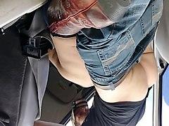 public car sex