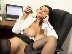 Secretary indulge at work