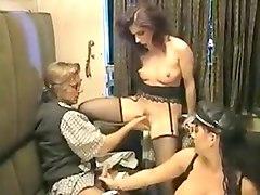 Crazy Big Tits, Stockings porn clip