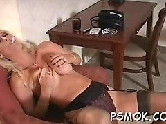busty slut likes balloons