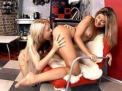 Anya & Chiara in Slender Twosome - SapphicErotica