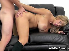 Horny pornstar Alyssa Lynn in Exotic Fake Tits, Big Ass adult scene
