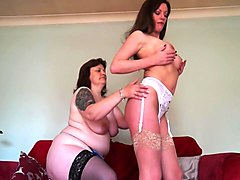 british mature mothers make lesbian love