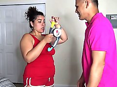 BOP IT CHALLENGE LOSER GETS A THONG WEDGIE