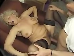 Horny Homemade video with Stockings, Hairy scenes