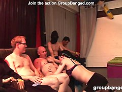 groupbanged.com rasta prostitute groupbanged and facialized