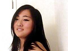 Big tits korean teen strips