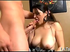 sucking with MILF