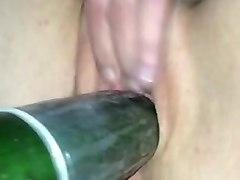 white, fuck, fucking, fucked, cucumber