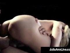 hot naked milf julia ann does anal sex on a broadway stage!