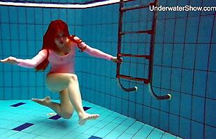 Simonna sexy naked swimming